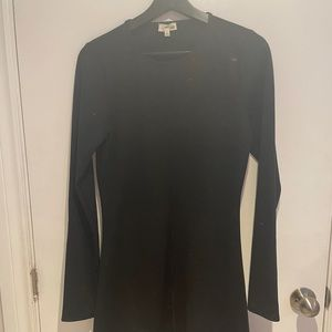 WILFRED FREE - Long Sleeve Black Dress